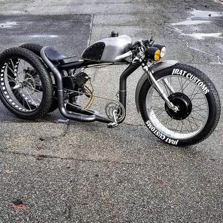 E-bike and E- moto builder doing his new Hybrid Dually # ...