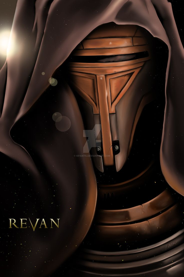 Knights of the Old Republic - Revan Portrait by KPants.deviantart.com on @DeviantArt