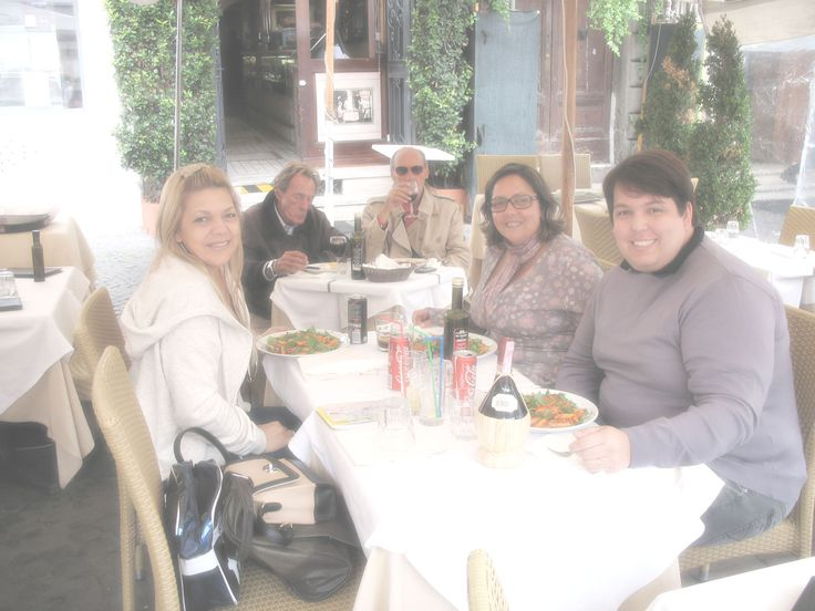 Piazza Navona com amigos...