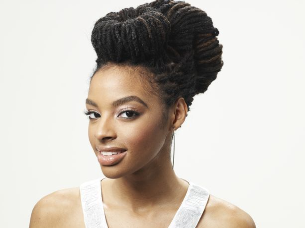 Updo for locsBeautiful Makeup, Locs Style, Dreadlocks Hairstyles, Black Hair, Healthy Hair, Dreadlocks Style, Braids Style, Nature Hair, Hair Tips