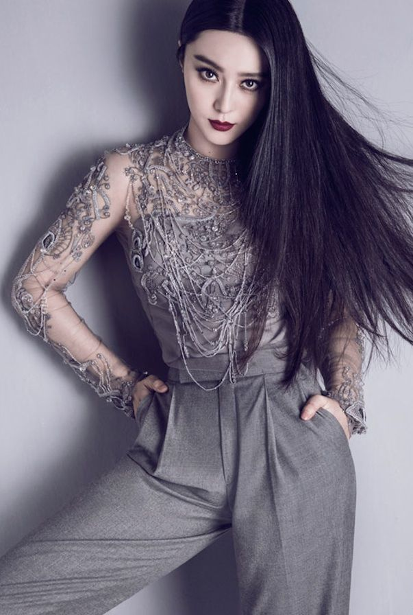 Chinese actress Fan Bingbing in Ralph Lauren Collection in Marie Claire Hong Kong