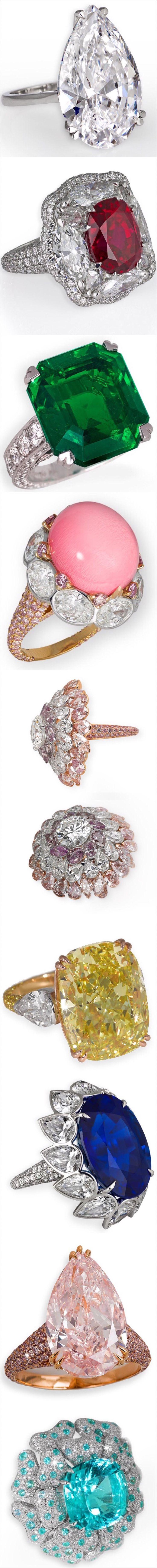 9 Stunning and Important Rings @David Morris - The London Jeweler