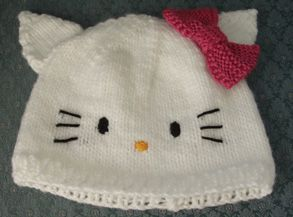 Free Hello Kitty Knit Hat Pattern : 13 best ideas about Knitting for Babies on Pinterest Free pattern, Children...