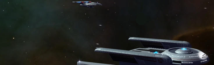Third-session Google Events banner. I took this screenshot myself in Star Trek Legacy.