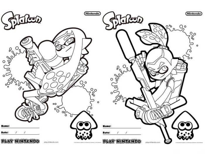 Coloring Sheets Video Games
