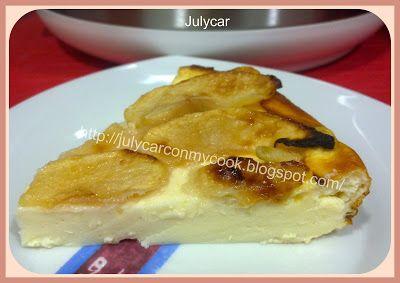 Recetas Dukan By Julycar: Tarta de queso y manzana