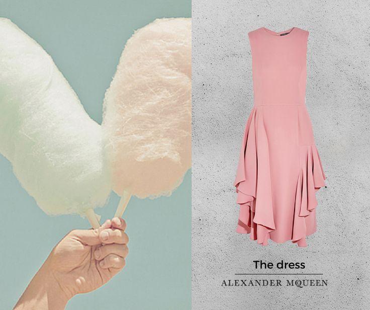 #alexandermcqueen #pinkdress #candy #donneconceptstore