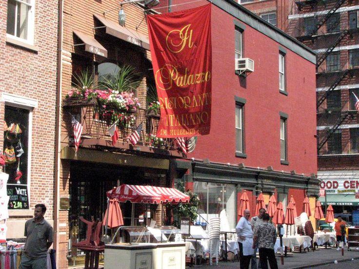 New York Little Italy Il Palazzo Ny Pinterest Best Italian Restaurants And