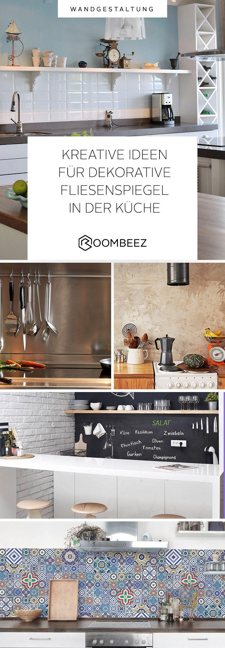 ◦ Dekorative Fliesenspiegel für die Küche ◦