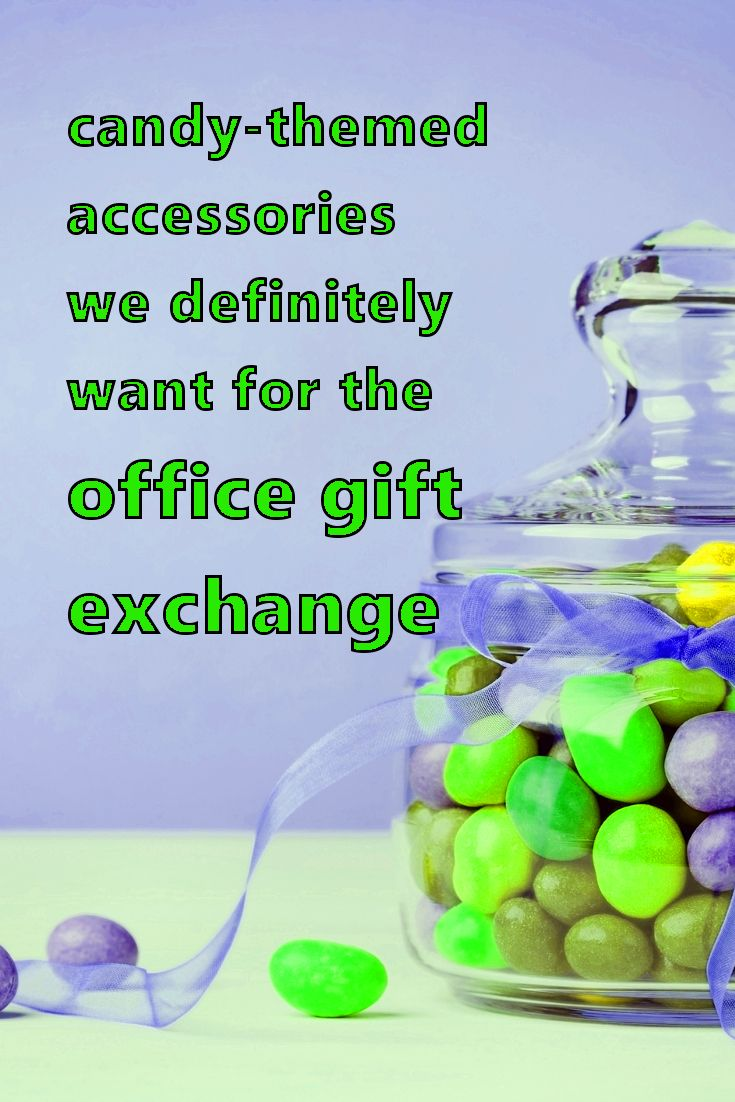 Candy-Themed Accessories | Office Gift Exchange Ideas | White Elephant Gift Ideas | Creative Gift Exchanges | What to Give Coworkers for Christmas
