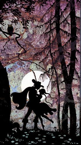 illustration by Jan Pienkowski from his book Fairy Tales