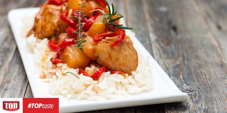 Φιλέτο στήθος κοτόπουλου με ΤΟΠ Μηλόξιδο και chutney φρούτων #TOPtaste