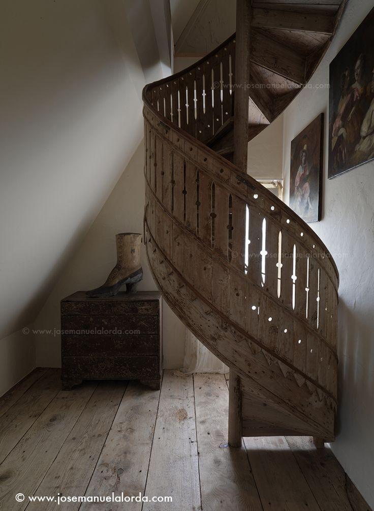 Wooden Spiral Staircase Josemanuelalorda