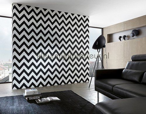 Zigzag lines behang 93943-1 Grafisch - Abstract AS Creation