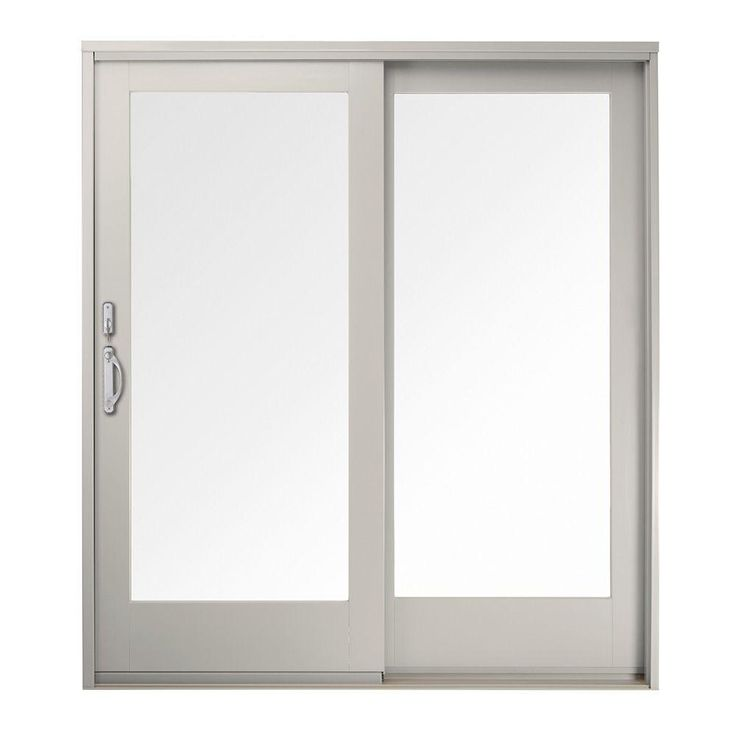 Andersen 60 In. X 80 In. 400 Series Frenchwood White Left Hand Sliding Patio  Door, Pine Interior, Low E SmartSun Glass