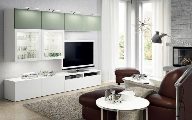 Wahnsinn wie Sie aus Ihrem Ikea Besta Regal Designermöbel machen - wohnideen tv wand