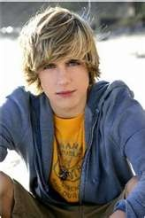Cody Linley. I went most of elemetry and middle school having A thing for guys with long blonde hair.