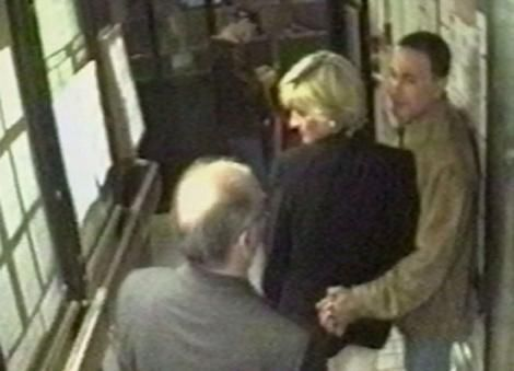 Aug. 31st, 1997. Princess Diana and Dodi leave restaurant. They would die a few minutes later.