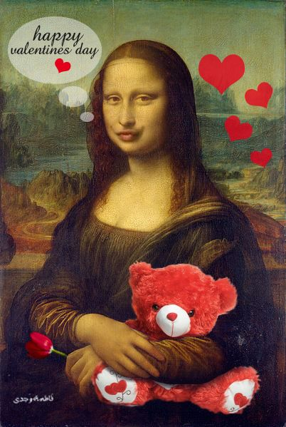 Happy valentine's day [FaTma WaGdi] (Gioconda / Mona Lisa)