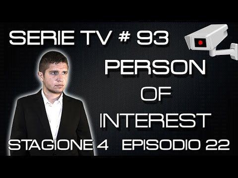 Person of Interest 4x22 - YHWH - recensione finale quarta stagione - YouTube