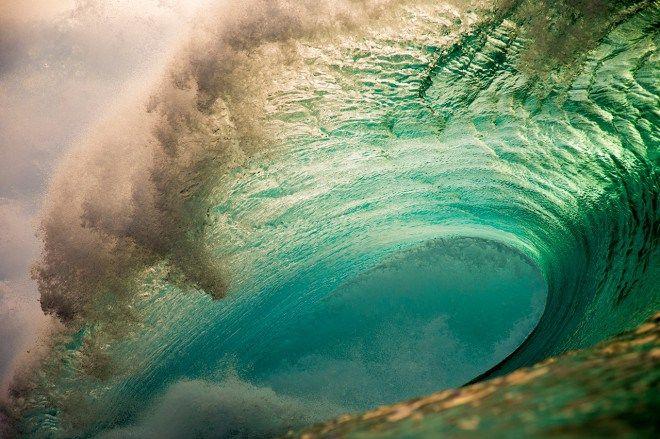 Fotos de Ondas Gigantes no Havai