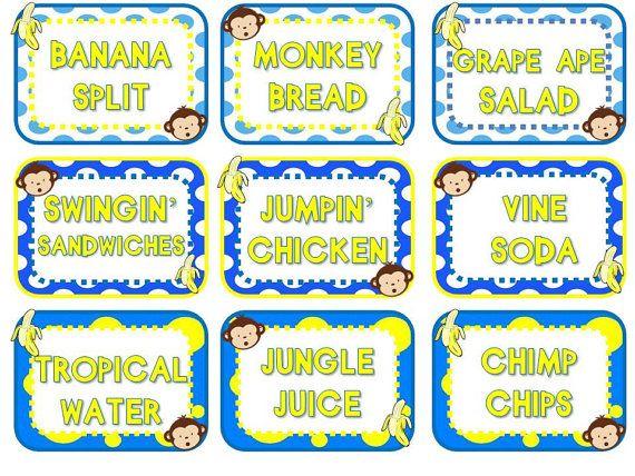 Best 25 Monkey Party Foods Ideas On Pinterest Monkey