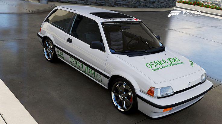 '86 Honda Civc Si- Osaka Kanjo Performance JDM  E class tune also available... - Forza Motorsport Forums