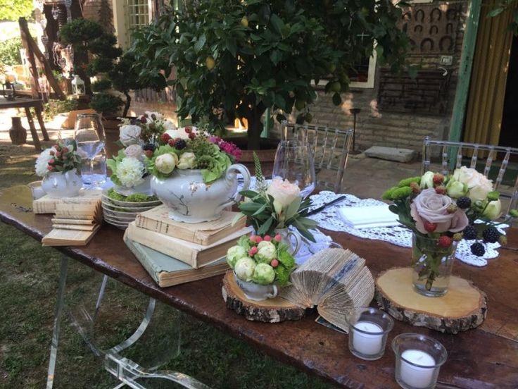 Sereventi :: Wedding Planner e organizzazione eventi  Tavolo sposi rural-country chic