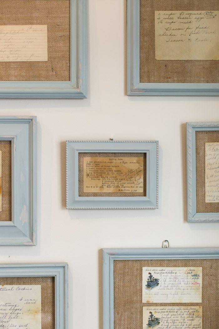 Kitchen Wall Art Using Framed Recipes Frames On Wall Unique Kitchen Art Framed Wall Art