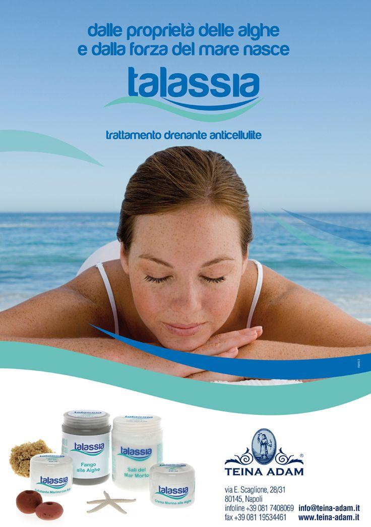 Talassia | trattamento drenante anticellulite. www.teina-adam.it