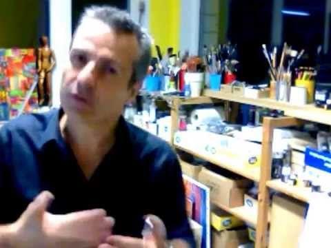 Transfert image ou photo sur toile - BeauxArts.fr - YouTube