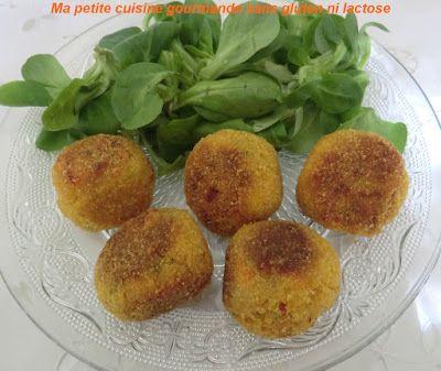 Ma petite cuisine gourmande sans gluten ni lactose: Boulettes de carottes panées sans gluten et sans lactose