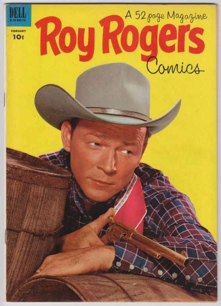 Roy Rogers Comics 62 Dell Western Comic Book 1953 20th