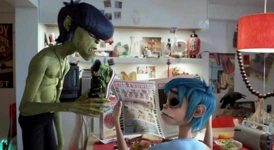 "I can't wait for the day when my kids ask who the Gorillaz were. ""Well, they were these animated gorillas and they made this really awesome music..."""