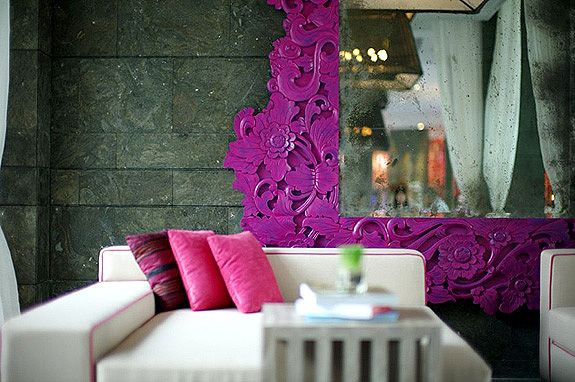 pink & purple: Interior Design, Abs, Color, Interiors, Spas, Spa Fracture