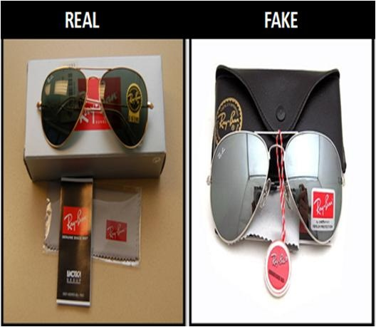 duplicate ray ban aviator sunglasses  how to spot a fake rayban aviator #stepbystep
