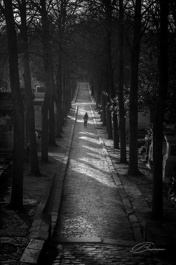 Cemitério Père Lachaise, Paris, França.