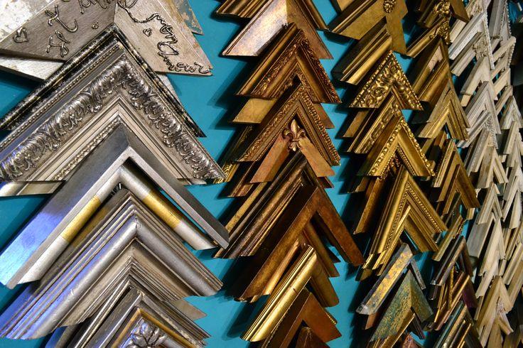 Varillas Madera Dorado y Plateado a la hoja   #Arte #Cuadros #Marcos #Restauraciones