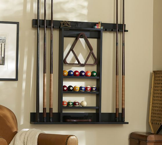 14 Best Images About Wood Projects Pool Stick Rack On