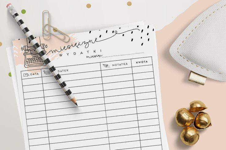 Domowy budżet — planner wydatków