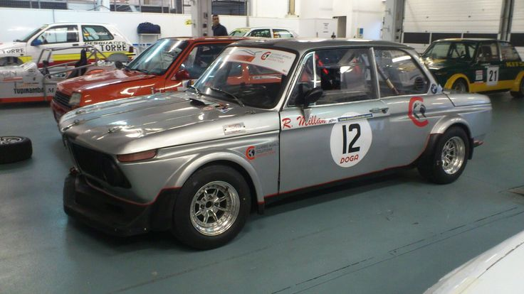 BMW 2002 ti 1970 de Ricard Millán (Estoril 2015)
