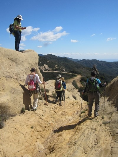 Backbone Trail--Santa Monica Mountians