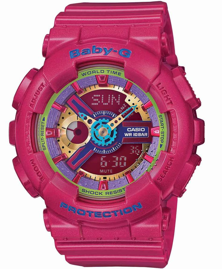 CASIO Baby-G Anadigi Fuchsia Rubber Strap Η τιμή μας: 140€ http://www.oroloi.gr/product_info.php?products_id=36928