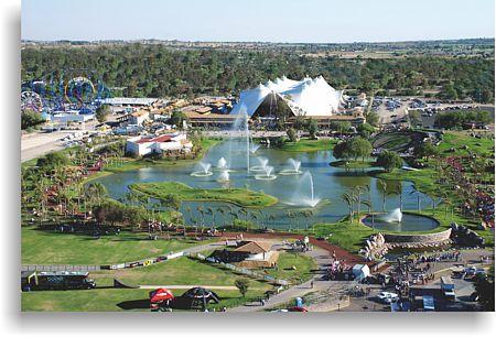 Feria Nacional de San Marcos (San Marcos Fair), Aguascalientes. This is the Isla San Marcos-- a section of the fairgrounds.