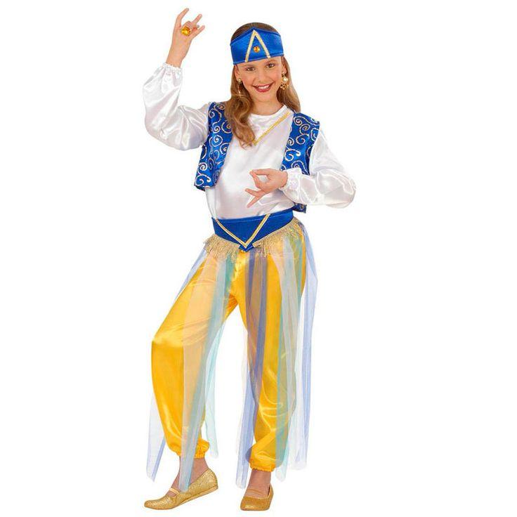 Disfraz de Princesa Árabe para niña #disfraces #carnaval #outlet #rebajas