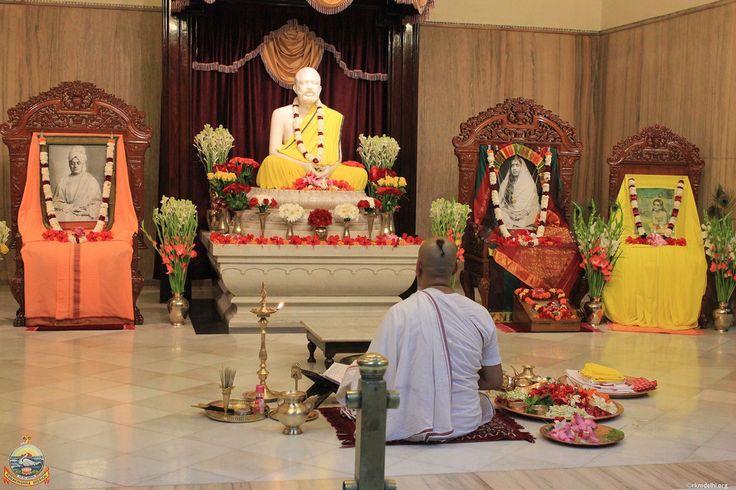 Krishna Janmashtami Celebrations at Ramakrishna Mission, Delhi - 5th Sep 2015.