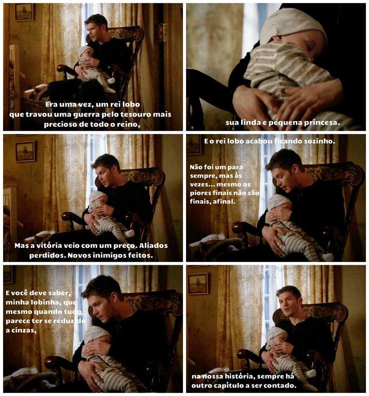 "The Originals – TV Série - Niklaus ""Klaus"" Mikaelson - Joseph Morgan - rei - King - lobo - Wolf - baby Hope Mikaelson - bebê - amor - love - daughter - filha - father - pai - dad - papai - moda - style - look - inspiration - inspiração - fashion - citações - quotes - frases - tumblr - 2x22 - Ashes To Ashes - Cinzas Às Cinzas"