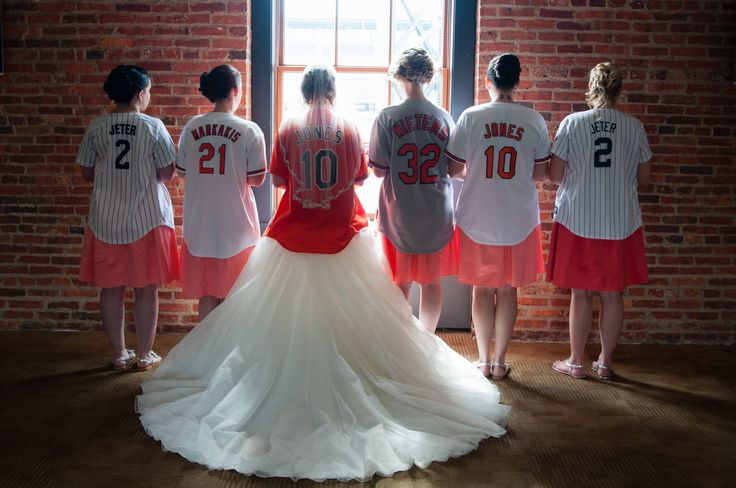 This would be awesome! But Jarrett and I in our Braves jerseys!