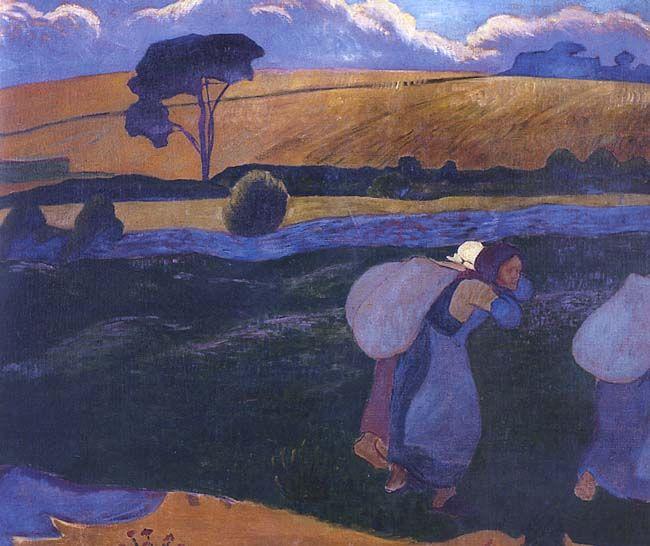 Paul Sérusier Les Lavandières de Bellangenet ca. 1892 private collection