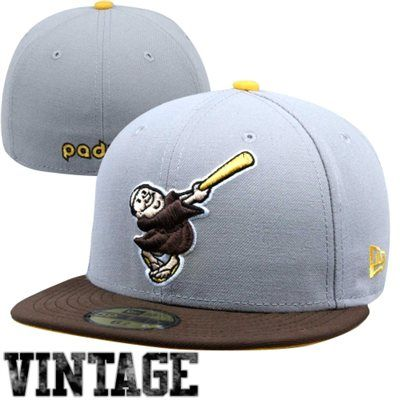 391426e8b52cb New Era San Diego Padres Two-Tone 59FIFTY Fitted Hat - Gray Brown ...